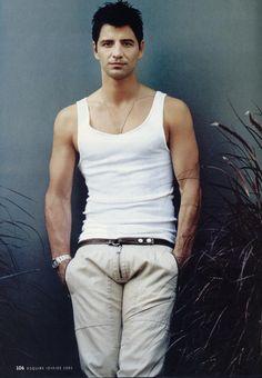 Sakis Rouvas Tank Man, My Style, Jeans, Mens Tops, Fashion, Moda, Fashion Styles, Fashion Illustrations, Fashion Models