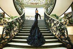 Olga Pericet por Paco Villalta. Vestuario Yaiza Pinillos Flamenco Costume, Shower Ideas, Stairs, Baby Shower, Costumes, Home Decor, Apparel Design, Dressing Rooms, Babyshower