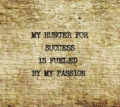 And my passion is *fashion*