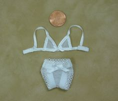Monster High Doll LINGERIE Set White Mesh by UniqueCreations1111