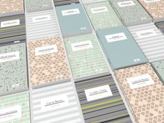 Pattern Book Collection by Astrid Ortiz, via Behance