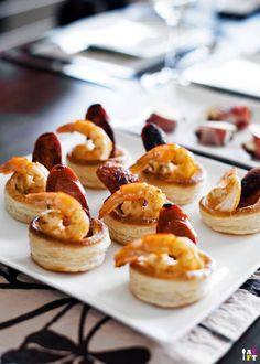 Let's Do Lunch for Mid-Autumn Festival & Birthday Celebration {Prawn and Chorizo with Kewpie Mayo Vol-au-Vent}