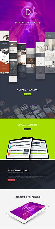 Divi WordPress Theme   Elegant Themes Drag and drop creation of all parts of the website