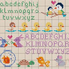 CommonThread.us Easter Cross Stitch Chart