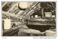 Noah John Rondeau's cabin | Interior of the hermits cabin in Adirondack Mts.,