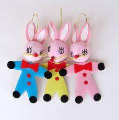 .Vintage bunnies