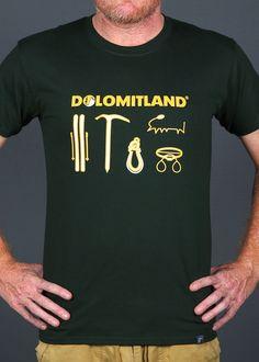 DOLOMITLAND T SHIRT SPORTSWEAR