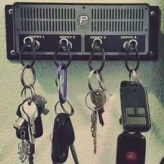 Jack Rack Guitar Amp Key Holders
