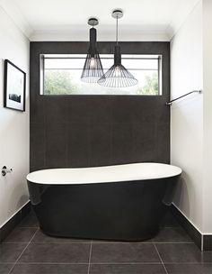 The bathroom is a real pleasure with quality finish interior creating a calm and relaxed feel. Interior Design Work, Interior Ideas, Rawson Homes, Clawfoot Bathtub, New Homes, House Design, Bathroom, Calm, Washroom