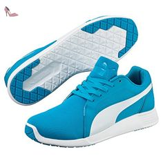 Puma St Trainer Evo, Baskets mode homme - Bleu (Atomic Blue/White), 42 EU (8 UK) - Chaussures puma (*Partner-Link)