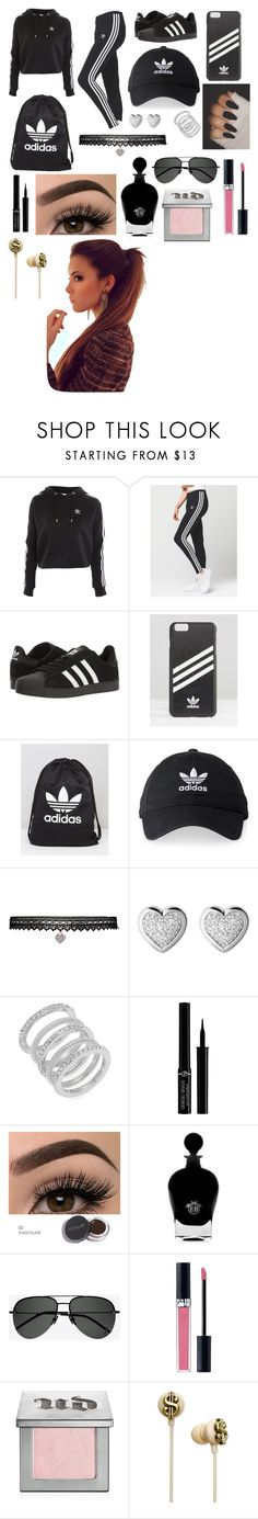 """Adidas🖤"" by brielleespinal ❤ liked on Polyvore featuring Topshop, adidas, adidas Originals, Betsey Johnson, Links of London, Cole Haan, Giorgio Armani, EB Florals, Yves Saint Laurent and Christian Dior"