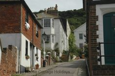 Hastings Old Town, going up to the Castle (its ruins more like)