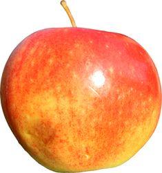 digital bildsal, äpple, frilagd