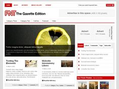 Gazette Edition is arguably our most sophisticated-looking theme to date, whilst the trendy featured scroller makes it very unique. The clean, white layout with professionally designed content areas are perfect for users that'd like to run a community newspaper website or a product showcase.