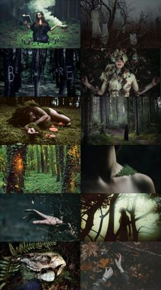 Altar Inspiration Dark Art, Dark Green Wallpaper, Medieval Witch, Witch Photos, Autumn Witch, Pump House, Aesthetic Collage, Witch Aesthetic, Wiccan