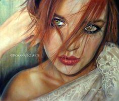 Autoretrato Roxana BO - Imágenes de Retratos en Temática General   Dibujando