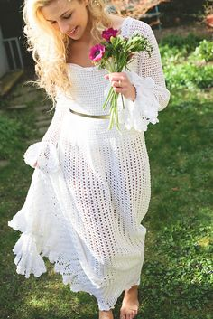 Ravelry: Wedding Dress pattern by Tracey Ann Shears