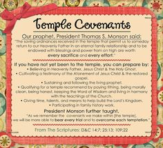 July: Orinances and Covenants:  Little LDS Ideas
