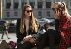 """the-streetstyle: """" The Wandering Eye: Paris in the (Sort of) Springtime """""""