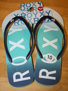d361e090015 So cute and perfect for the beach during the summer!!  Roxy  FlipFlops