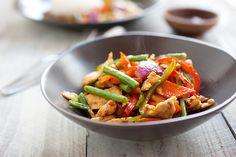 Spicy Chicken Stir-Fry (Ayam Paprik)