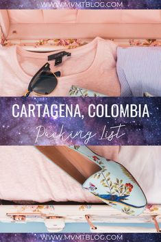 What to Wear In Cartagena: Your Comprehensive Packing List, including specific product recommendations for ladies on a budget. Click through to shop our favorite beach/coastal vacation looks, or pin for later! Packing List For Travel, Packing Tips, Travel Tips, Budget Travel, Travel Destinations, Visit Colombia, Colombia Travel, Best Carry On Luggage, Travel Wardrobe
