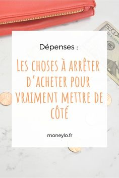 Les choses à arrêter d'acheter pour vraiment mettre de côté Journal Organization, Finance Organization, Financial Tips, Financial Planning, Faire Son Budget, Budget Envelopes, Envelope Budget, Creating A Business Plan, Home Budget