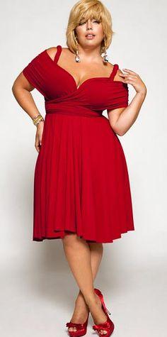 cutethickgirls.com plus size red dresses (28) #plussizedresses