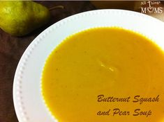 A perfect fall soup! This would make a great starter Thanksgiving Day!