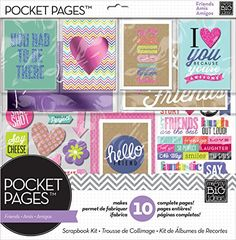 me & my BIG ideas SRK-700 Pocket Pages Scrapbook Page Kit, 12 by 12-Inch, Love My Friends Me & My Big Ideas http://smile.amazon.com/dp/B00JKIMV6Y/ref=cm_sw_r_pi_dp_C0ycxb1PS9CV3