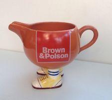 Carlton Ware Brown & Polson Jug