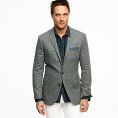 Hey Megan -- I work in a casual office and usually wear chinos or jeans with button-downs. I've picked up some great ties -- solid knits and repp stripes -- at thrift stores and was hoping to work them into my work wardrobe (without looking like I'm trying to impress the boss or interviewing for another job). Any tips?