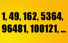 Look at the series (1, 49, 162, 5364, 96481, 100121, ...), determine the pattern, and find the value of the next number.
