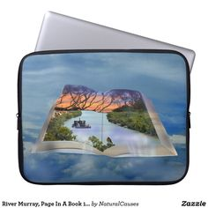 #rivermurray book, Page In A Book 15 inch #laptopsleeve