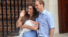 Presentan al 'royal baby'
