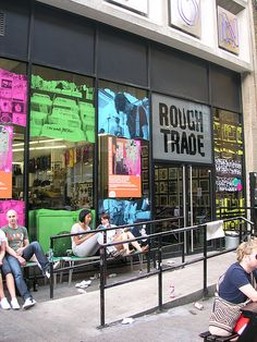 Rough Trade, London, Independent Record label/distribution and store