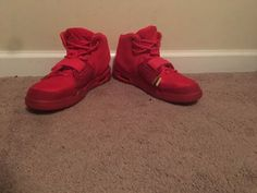 Nike Air Yeezy 2 Red October Sz11