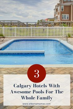 Whether you're traveling to Calgary or planning a staycation with the family, the pool is a must-have. Here are 5 Calgary Hotels With Awesome Pools Awesome Pools, Cool Pools, Leisure Pools, Hotels For Kids, Canadian Travel, Kid Pool, Hiking Tips, Staycation, Family Activities