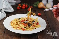 Pasta+alle+melanzane+filanti
