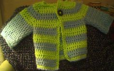 This is what the sweater looked like before the pocket was added.
