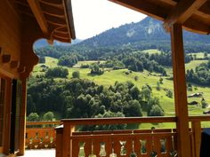 Summer view from the terrace