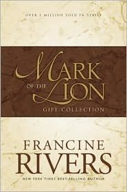 Francine Rivers, a Christian, historical fiction author.  These books are more of my favs.