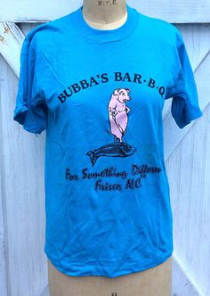 Check out this item in my Etsy shop https://www.etsy.com/listing/465490153/nos-vintage-retro-estate-bubbas-bar-b-q