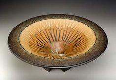 Ash glazed pottery by Richard Aerni