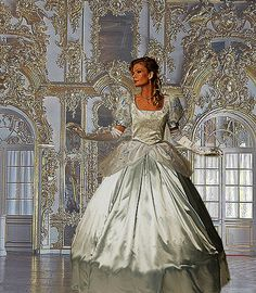 Cinderella Type Gown by TimeAfterTimeDesigns on Etsy. $650.00, via Etsy.