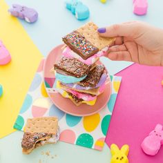This is what your Easter has been missing — Peeps s'mores.