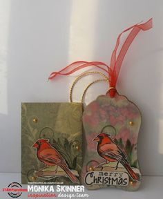In My Creative Opinion: The 25 Days of Christmas Tags Just One More - Day 26 25 Days Of Christmas, Christmas Tag, One More Day, Stencils, Reusable Tote Bags, Paper Crafts, Stamp, Creative, Cards