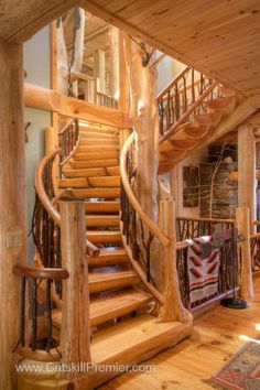 Sweeping Staircase Details