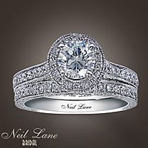 Someday...<3 this vintage Hollywood style engagement ring.