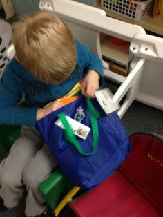 Ignite Learning LLC with Conscious Discipline check out this great idea for organizing a successful independent reading time for preschool age children